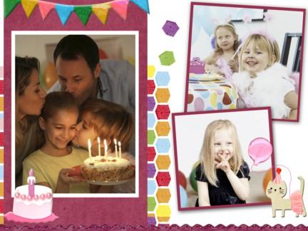 Collage y fotomontaje en línea con tus fotos y vídeos: Cumpleaños de ...