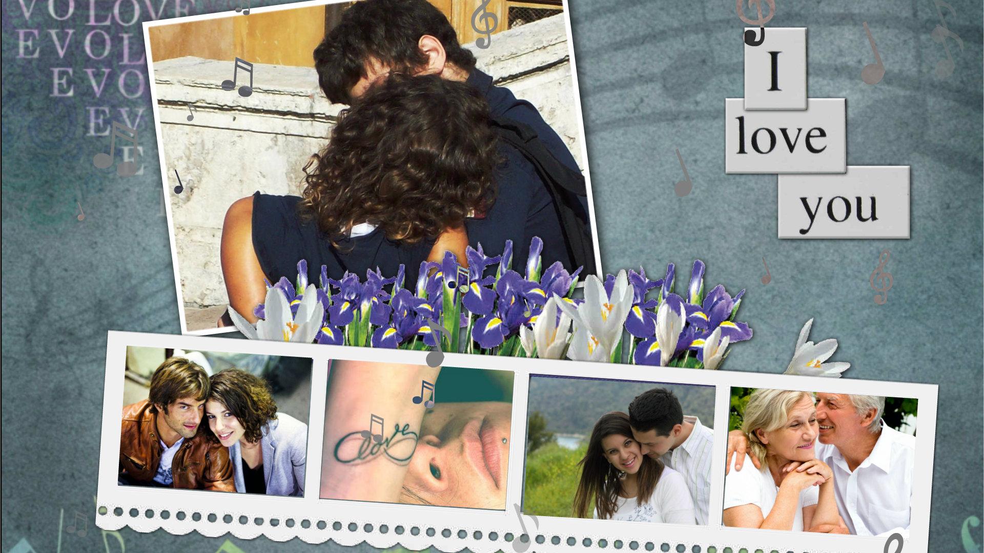 Image of: Collage Y Fotomontaje En Linea Con Tus Fotos Y Videos Musica De Amor